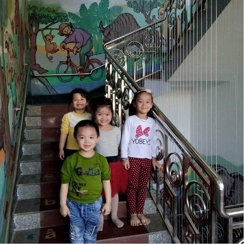 lưới bảo vệ cầu thang