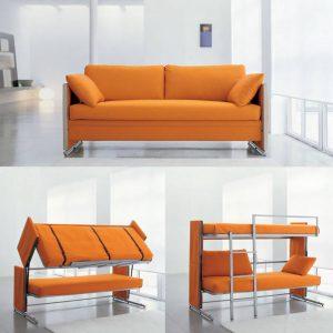 thiết kế nhà nhỏ đẹp đơn giản ghế giường