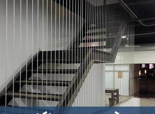 cầu thang dây cáp