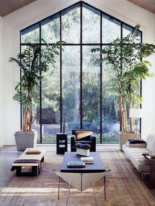 Màu sắc cũng đóng góp trong không gian nhà theo phong cách Nhật.