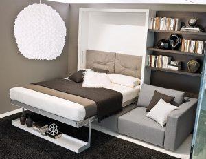 thiết kế nhà nhỏ đẹp đơn giản phòng ngủ