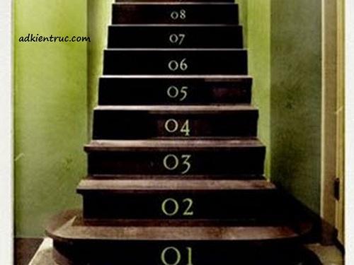 các bậc cầu thang