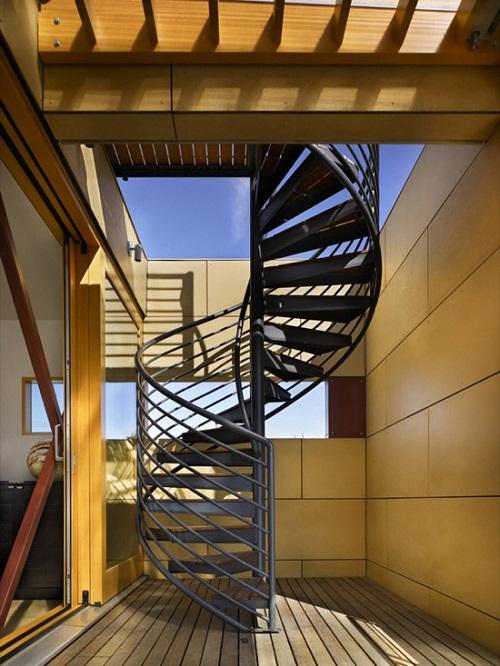 Cách làm cầu thang xoắn ốc