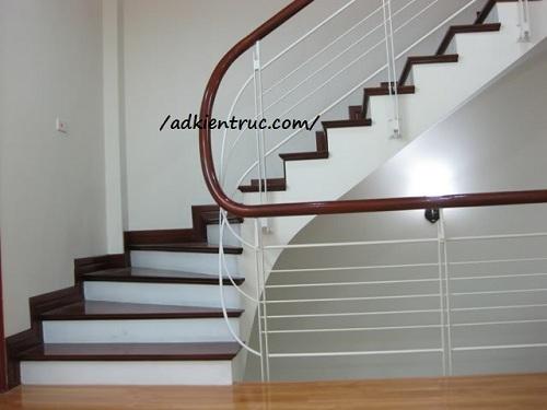 tay vịn cầu thang bằng nhựa