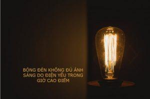 cách sửa bóng đèn