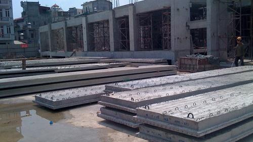 Bê tông sợi thép xây nhà