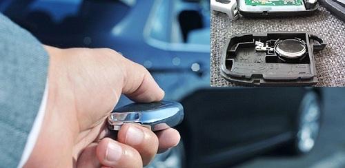 chìa khóa ô tô hết pin