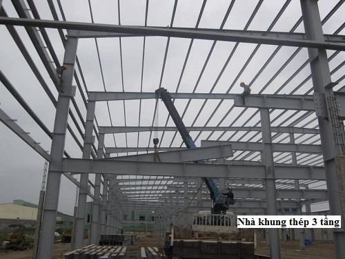 lợi ích nhà khung thép 3 tầng