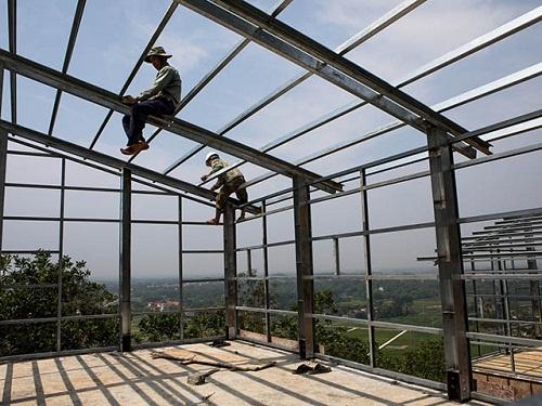 chi phí thi công nhà thép 3 tầng
