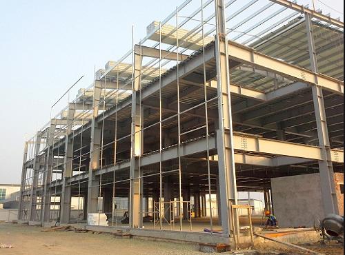 kết cấu thép nhà 3 tầng