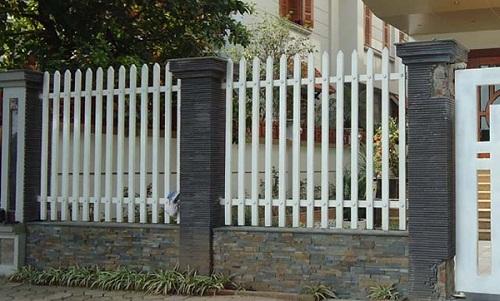 hàng rào thép hộp