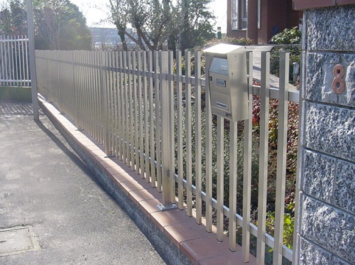 mẫu hàng rào thép hộp