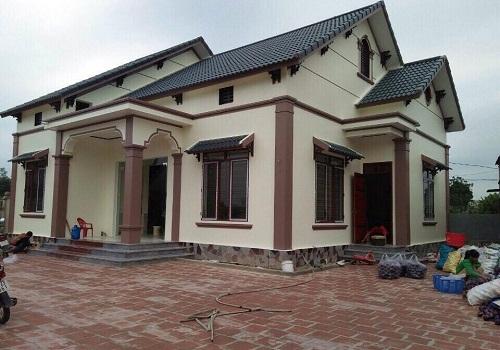 Nhà mái thái 5 phòng ngủ