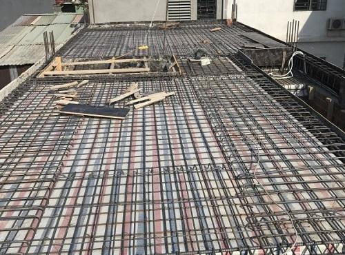 Tiêu chuẩn đổ mái nhà bằng bê tông