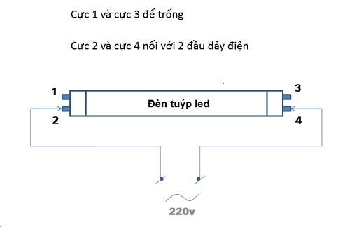 Cách lắp bóng đèn led mới hoàn toàn với dòng điện xoay chiều