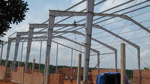 cột thép nhà xưởng
