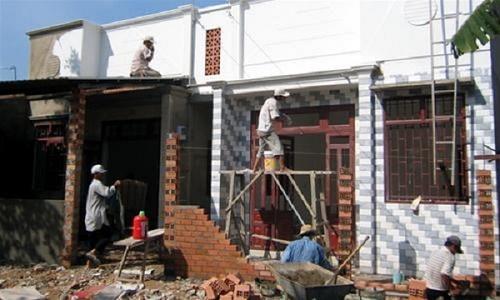 sửa nhà cấp 4 thành nhà mái thái