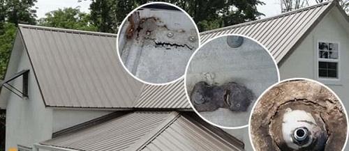 nhà mái tôn bị dột