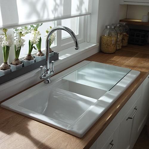 Cách lắp vòi chậu rửa bát nóng lạnh