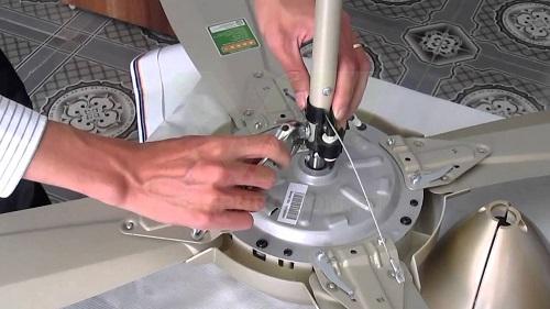 Cách đấu điện quạt trần Panasonic đơn giản tại nhà