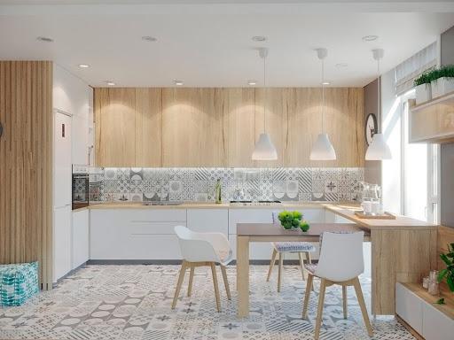Thiết kế không gian phòng bếp theo phong cách hiện đại