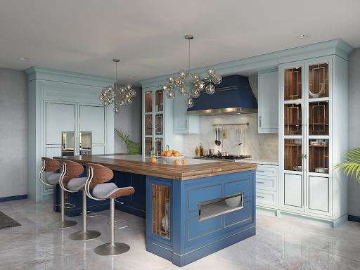 Thiết kế không gian phòng bếp chung cư