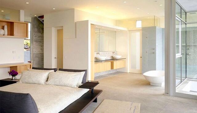 cách bố trí nhà vệ sinh trong phòng ngủ 3