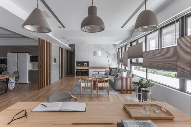 Có nên thiết kế phòng khách liền bếp không?