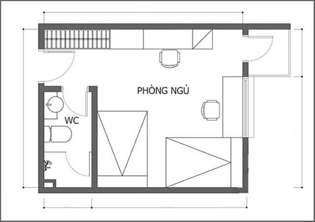 Cấu trúc của nhà vệ sinh