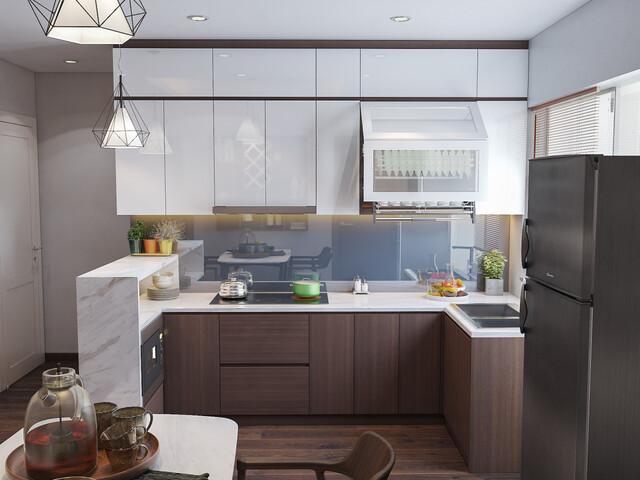 Mẫu 1 phòng bếp