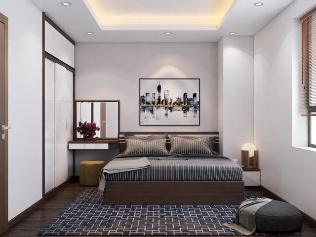 Mẫu 1 phòng ngủ