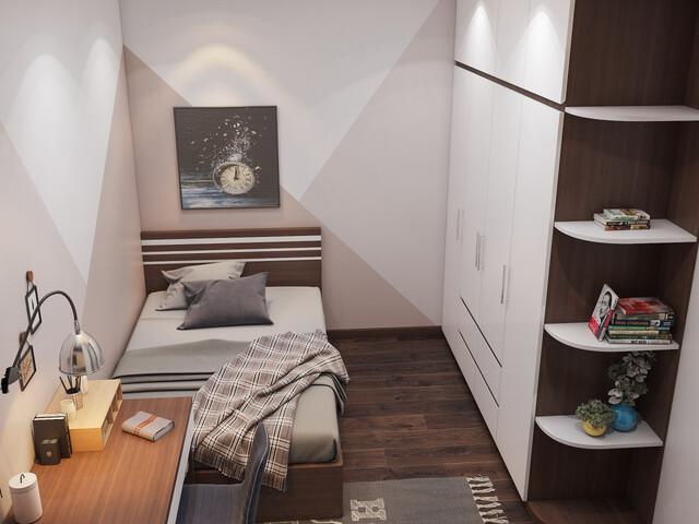 Mẫu 1 phòng ngủ 3