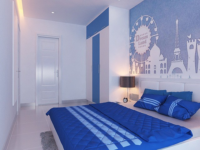 Thiết kế phòng ngủ cho bé trai 8 đến 10 tuổi 1