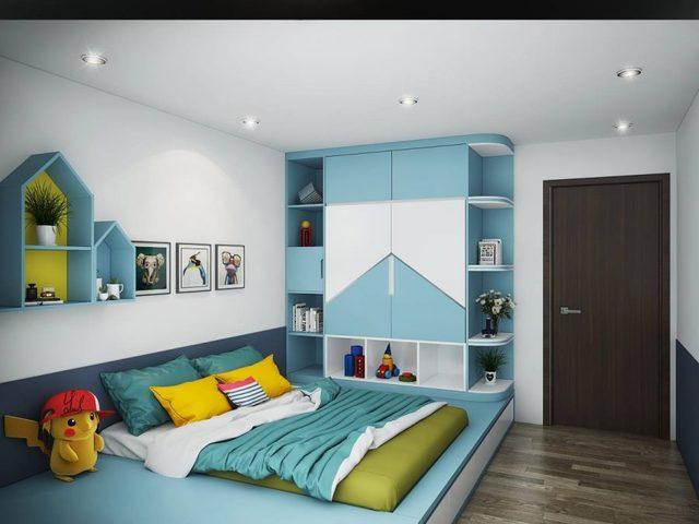 Thiết kế phòng ngủ cho bé trai 8 đến 10 tuổi 3