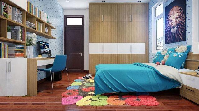 Phòng ngủ bé trai hiện đại 10 đến 12 tuổi 2