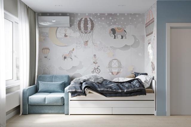 Phòng ngủ bé trai hiện đại 10 đến 12 tuổi 3