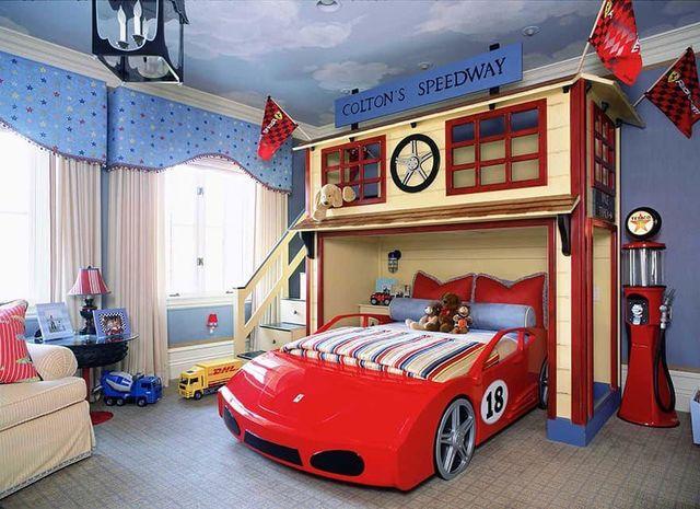 Thiết kế phòng ngủ nhỏ cho bé trai 4 đến 6 tuổi 2