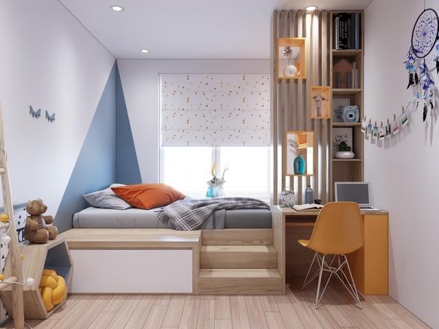 Thiết kế phòng ngủ đẹp cho bé trai 6 đến 8 tuổi 1