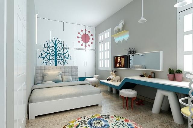 Thiết kế phòng ngủ đẹp cho bé trai 6 đến 8 tuổi 2