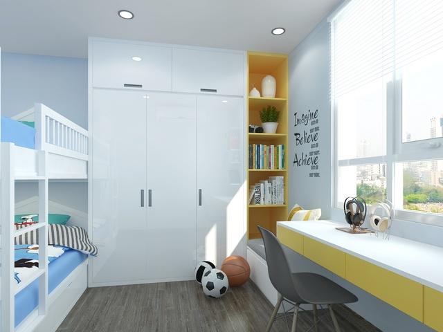 Thiết kế phòng ngủ đẹp cho bé trai 6 đến 8 tuổi 3