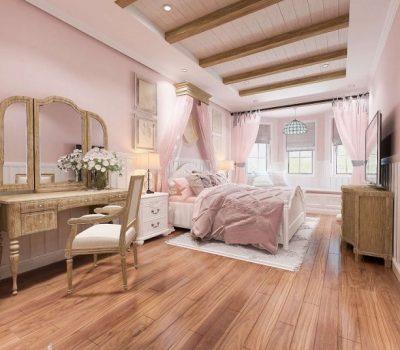 Mẫu phòng ngủ bé gái 15 tuổi cho biệt thự 2