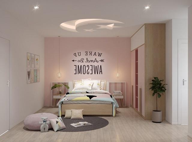 Mẫu phòng ngủ bé gái 15 tuổi diện tích nhỏ cho chung cư 2