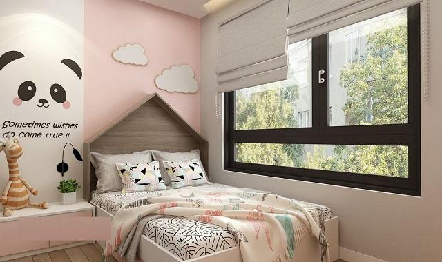 Mẫu phòng ngủ bé gái 15 tuổi diện tích nhỏ cho chung cư 4