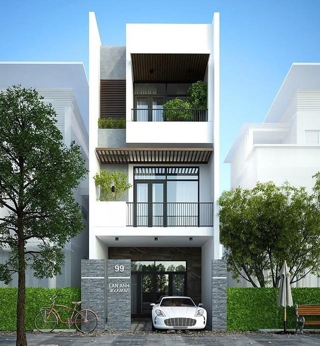 mẫu thiết kế nhà 3 tầng 40m2-10