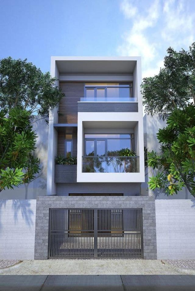 mẫu thiết kế nhà 3 tầng 40m2-8