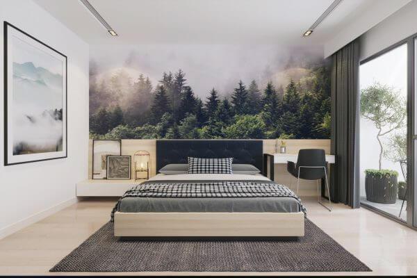 Mẫu thiết kế phòng ngủ nhỏ đẹp 10