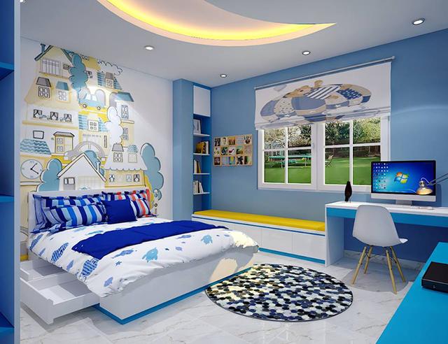Nguyên tắc khi thiết kế nội thất phòng ngủ cho bé