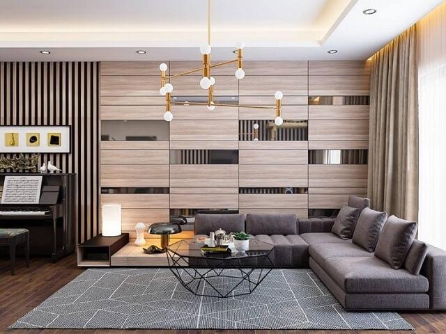 phối cảnh nội thất phòng khách chung cư