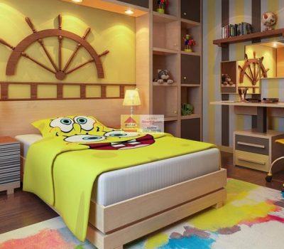 Tại sao cần thiết kế nội thất phòng ngủ cho trẻ em