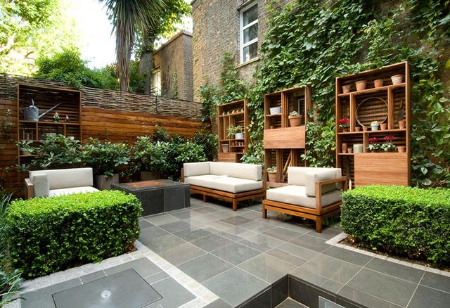 Thiết kế không gian sinh hoạt sân vườn